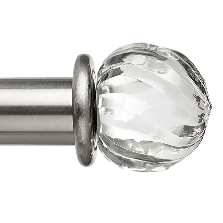 Toronto Twist Glass Finial